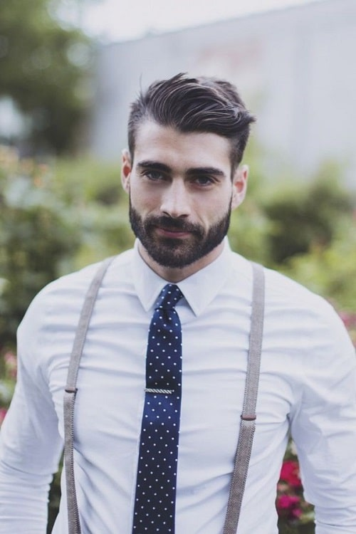 Mens Hairstyles With Beards mens short haircuts and long beards trends for 2017 Long Stubble Beard Styles