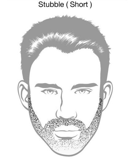 Short Stubble Beard Styles