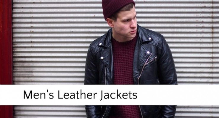 11 Best Mens Leather Jackets on Sale in 2018