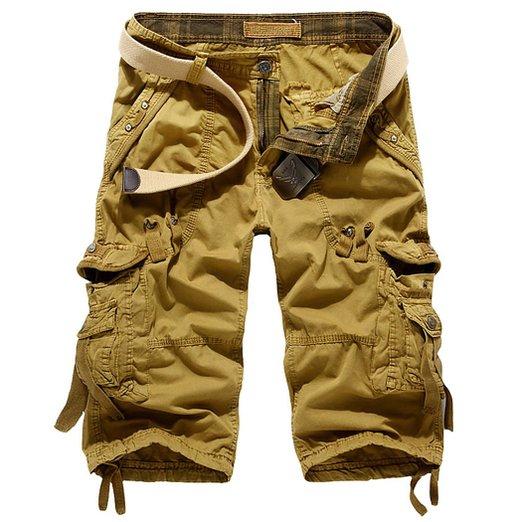 Leward Mens Casual Cargo Shorts