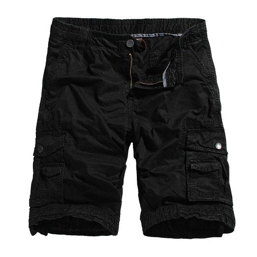 Ochenta Mens Cotton Cargo Shorts