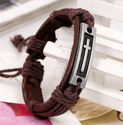 Mens Bracelets Leather