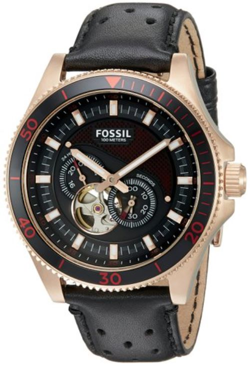 Mens Watches With Leather Band
