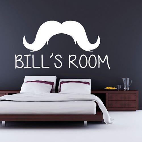 Mustache Bedroom Wallpapers