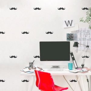 Mustache Wallpaper For Walls For Office
