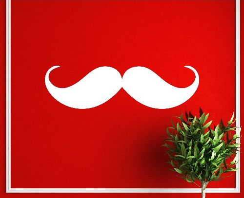 Mustache Wallpaper For Walls Uk
