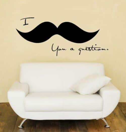 Mustache Wallpaper For Walls