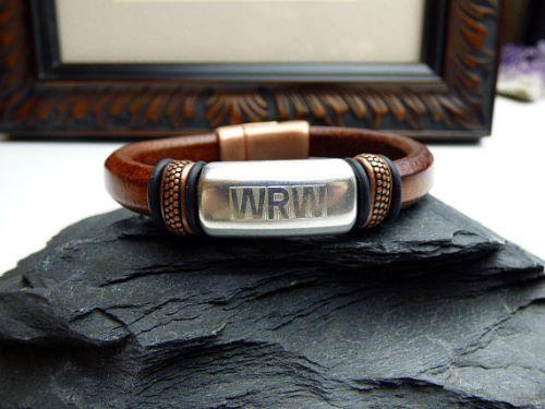 Personalised Engraved Mens Bracelets