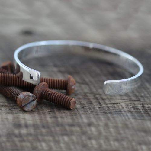 Unique Mens Silver Bracelets