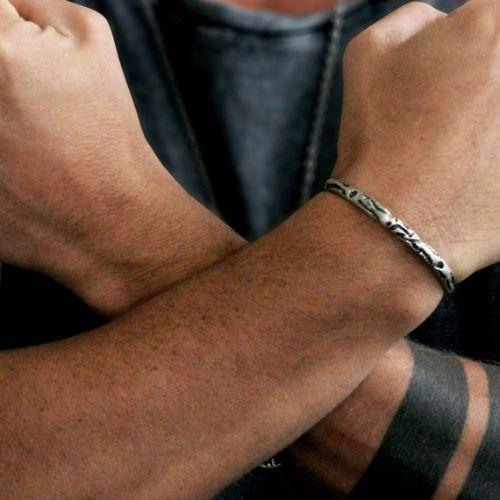 Vintage Silver Mens Bracelets