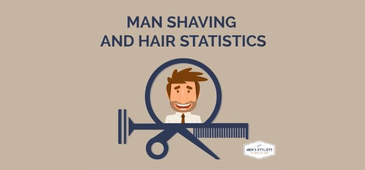 Mens Hair Barbershop Statistics Infographic