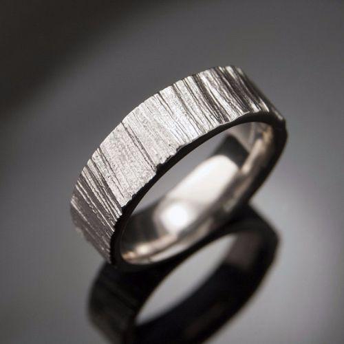 Cute Palladium Mens Rings