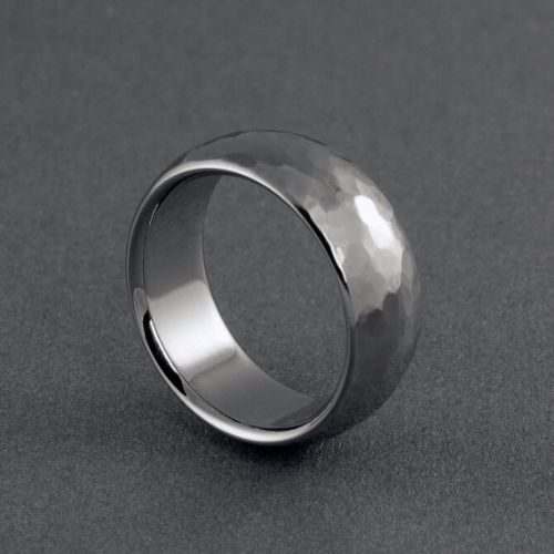 Fashionable Titanium Mens Rings
