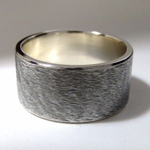 Online Oxidized Silver Mens Rings
