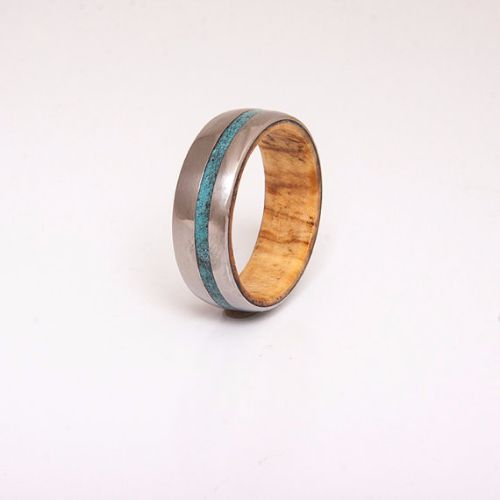 Titanium Mens Rings