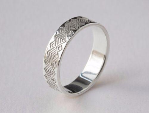 Unique Platinum Mens Rings