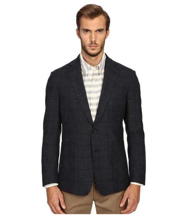 Billy Reid Rustin Red Mens Blazer