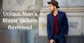 13 Unique Men's Blazer Jackets Reviewed [2016]