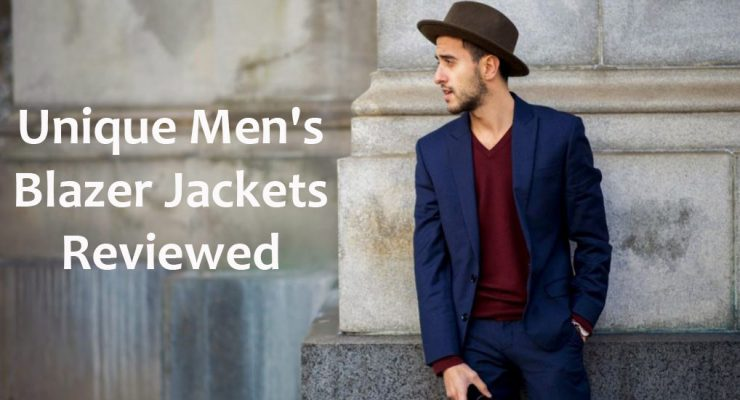 13 Unique Men's Blazer Jackets Reviewed [2018]