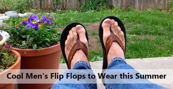 21 Cool Men's Flip Flops to Wear this Summer [2017]