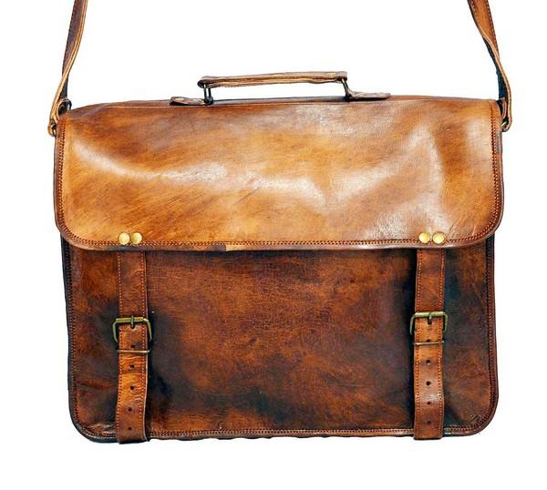 Leather Satchel Mens Messenger Bags Target