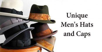 21 Unique Men's Hats and Caps [2017]