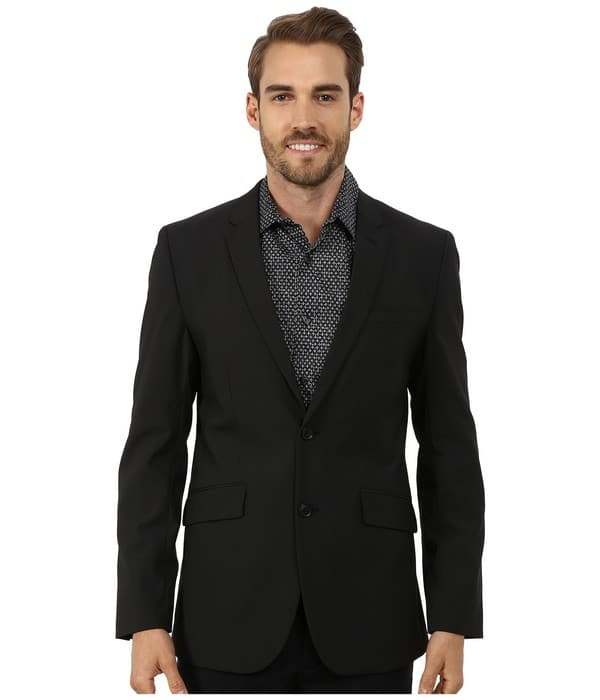 Perry Ellis Casual Mens Blazer
