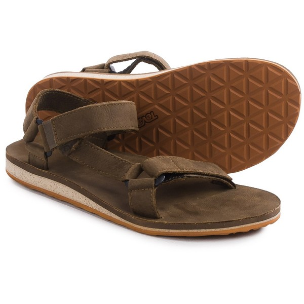 Teva Leather Mens Flip Flops Sandals