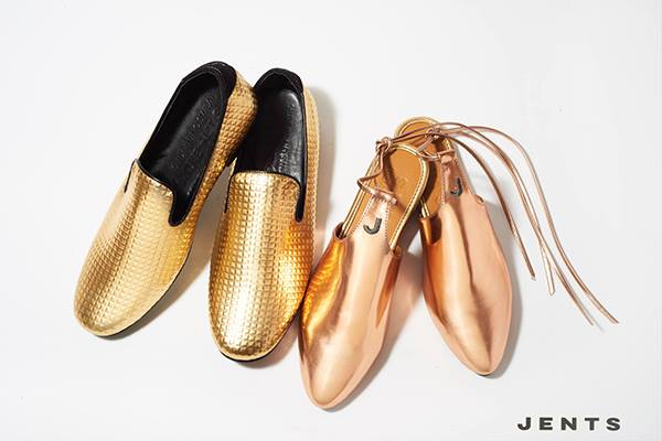 Mens Loafers And Womens Copper Flats