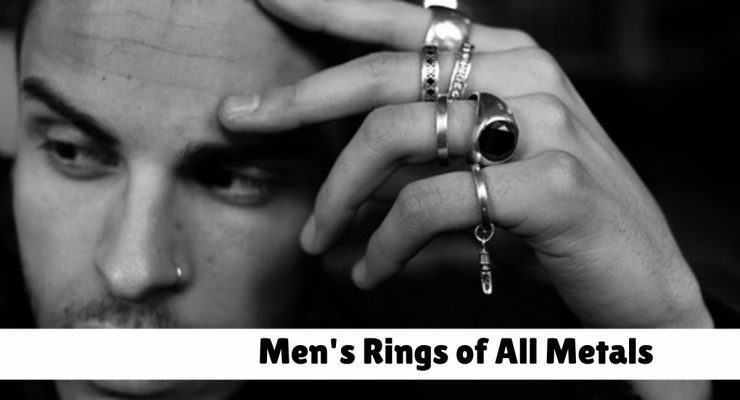42 Unique Men's Rings of all Metals