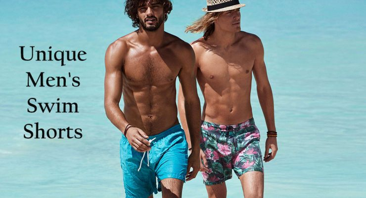 21 Unique Men's Swim Shorts [2018]