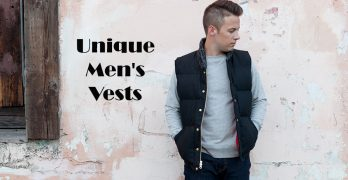 21 Unique Men's Vests Jackets [2017]