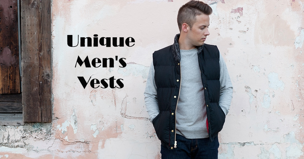 Mens Vest And Jeans