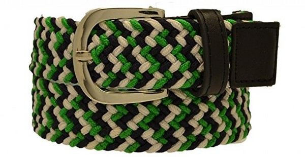 Multicolored Braided Belts