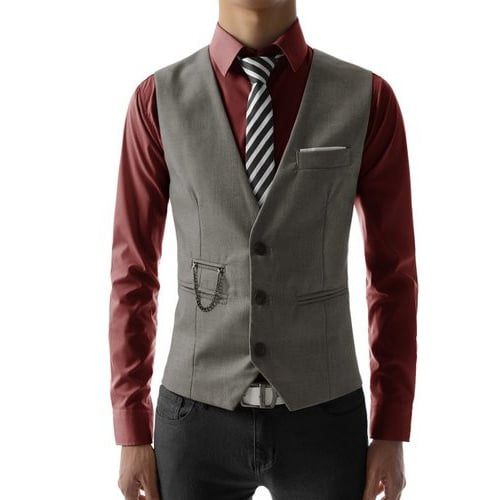 Quilted Mens Vest