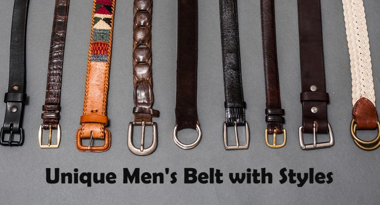 21 Unique Men's Belt with Styles