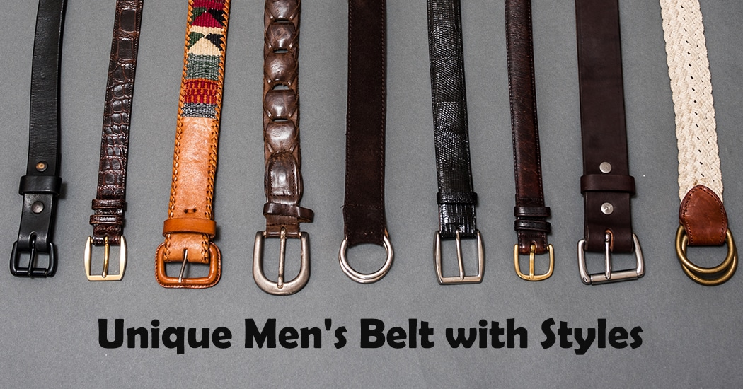 Top Mens Belts
