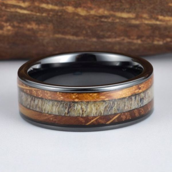 Black Mens Ring