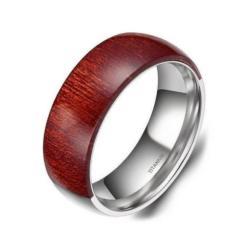 Cute Titanium Mens Rings