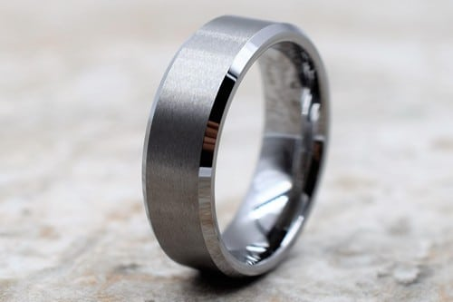 Inexpensive Tungsten Mens Rings