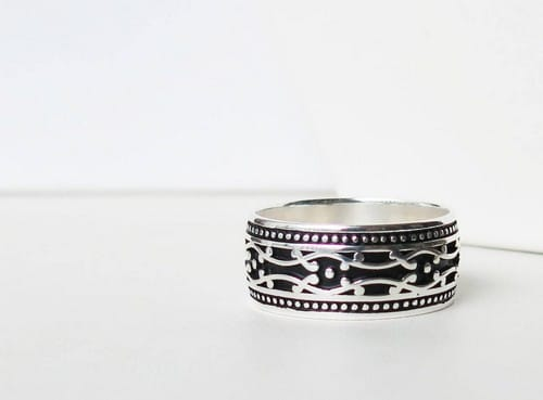 Sterling Silver Mens Rings