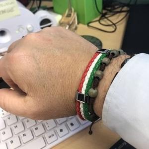 Italian Word Cup Soccer Bracelet