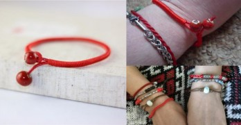 This Lucky Red String Bracelet takes the World By Storm