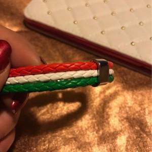 Italian Flag Leather Bracelet Feedback