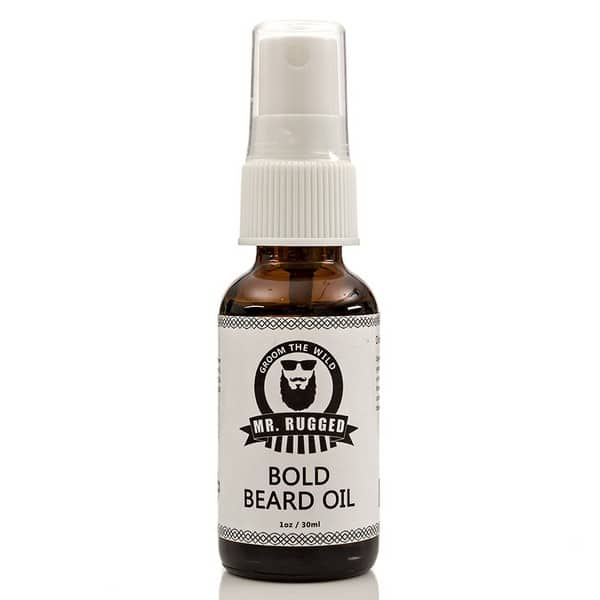 Mr Rugged Pump Beard Oil Conditioner