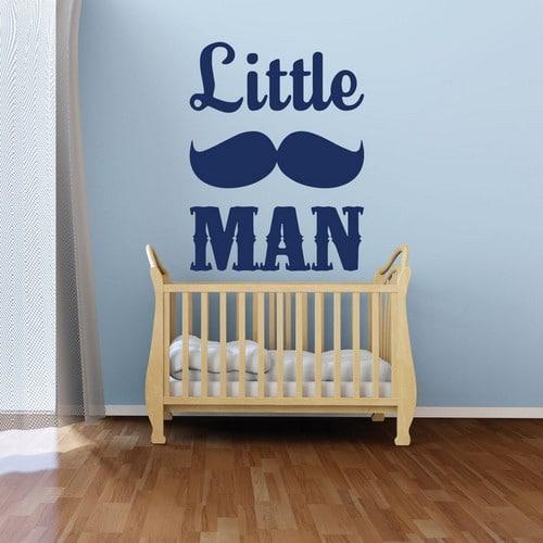 Mustache Room Wallpapers