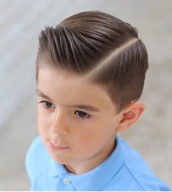 Boys Haircuts With Bangs