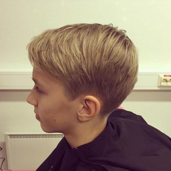 Boys Long Haircuts