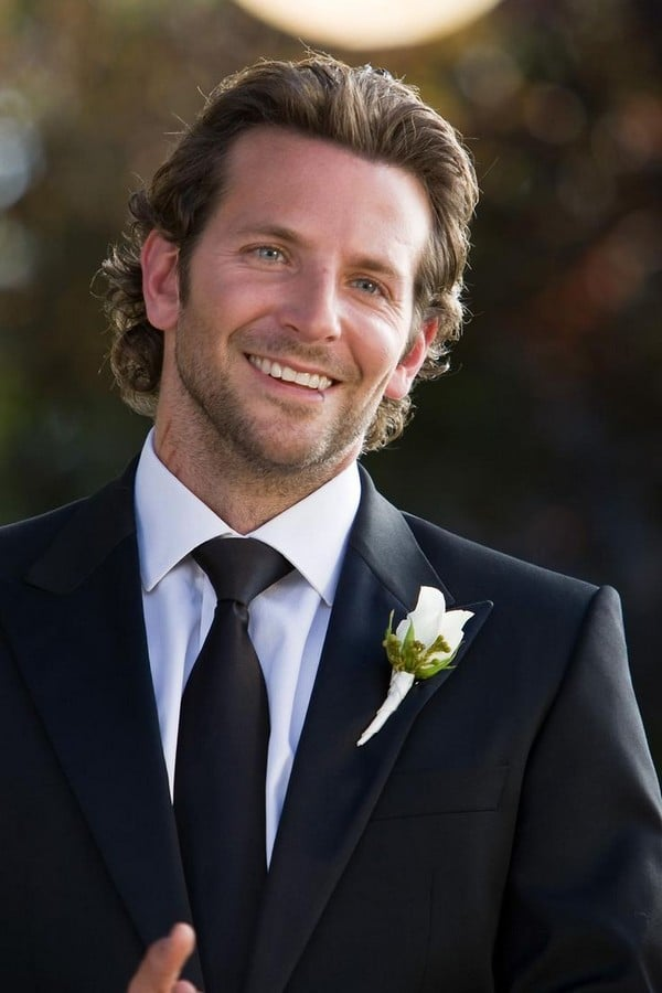 Bradley Cooper Casual Long Hairstyle