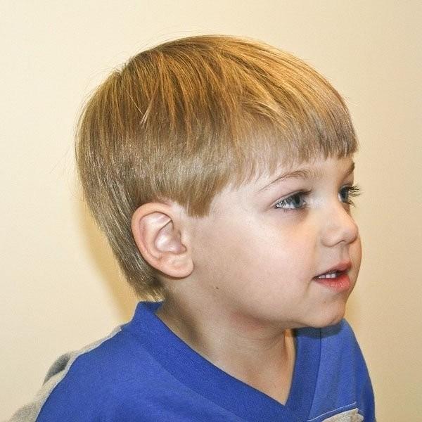 Inspiring Toddler Boy Haircuts
